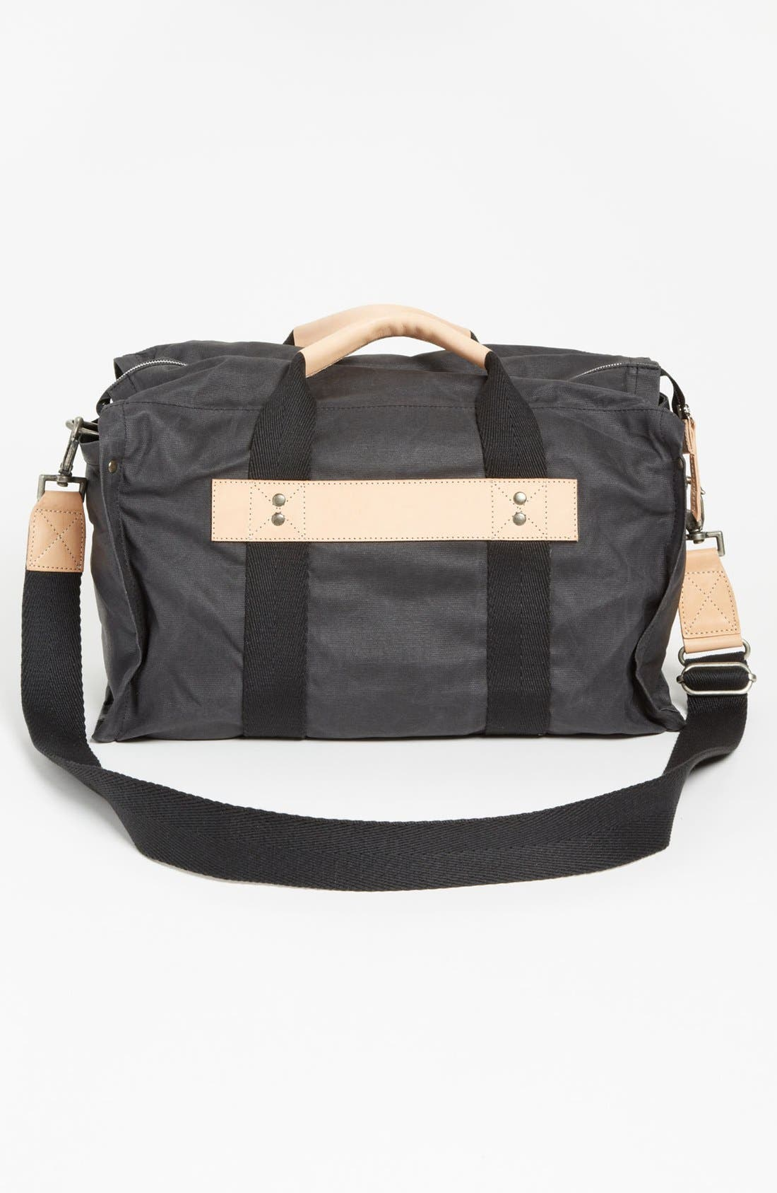 Alternate Image 2  - Will Leather Goods Canvas Duffel Bag