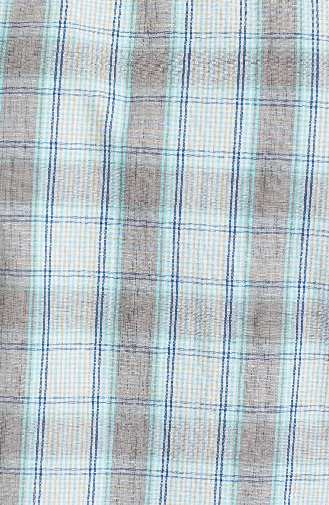 Alternate Image 2  - Ben Sherman Plaid Woven Shirt