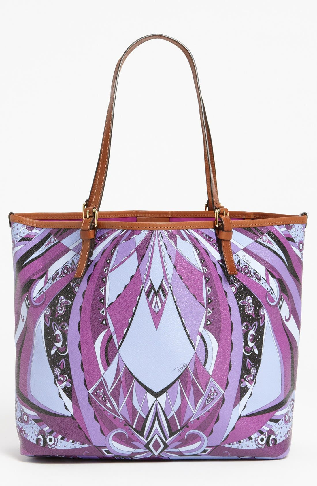 Alternate Image 1 Selected - Emilio Pucci 'Chicago Piazzato - Medium' Tote
