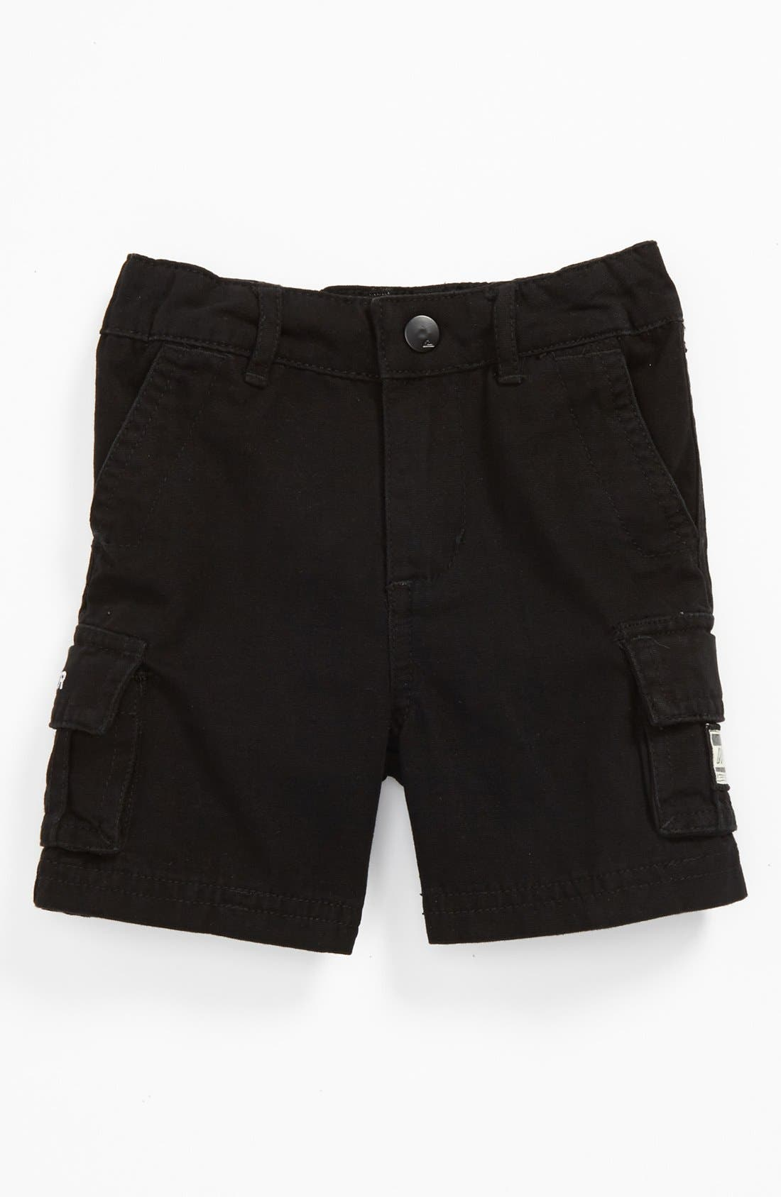 Alternate Image 1 Selected - Quiksilver Cargo Shorts (Baby)