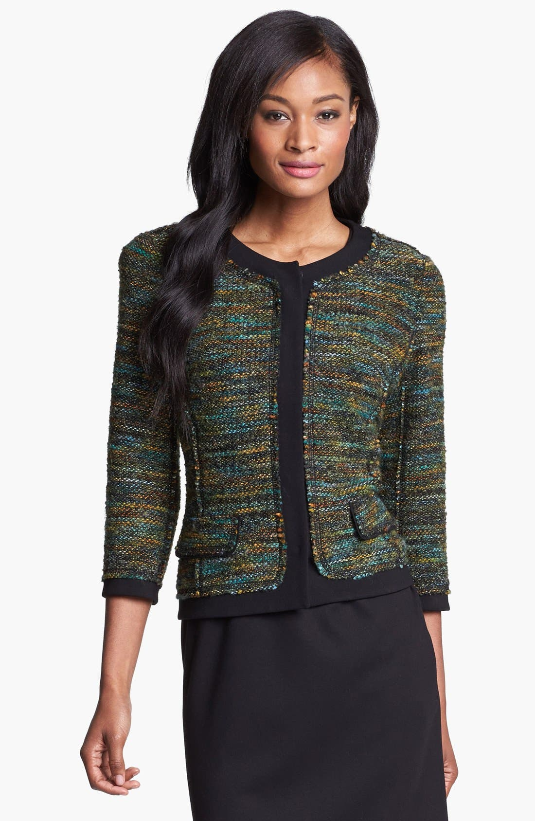Alternate Image 1 Selected - Lafayette 148 New York 'Marielle - Majestic Weave' Jacket