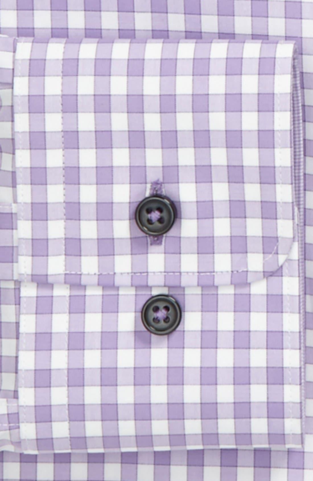 Alternate Image 2  - BOSS HUGO BOSS Slim Fit Linen Blend Dress Shirt