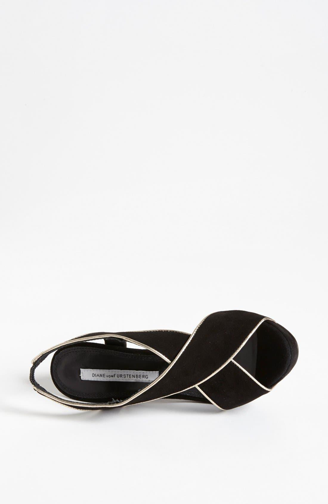 Alternate Image 3  - Diane von Furstenberg 'Julia' Sandal (Online Only)