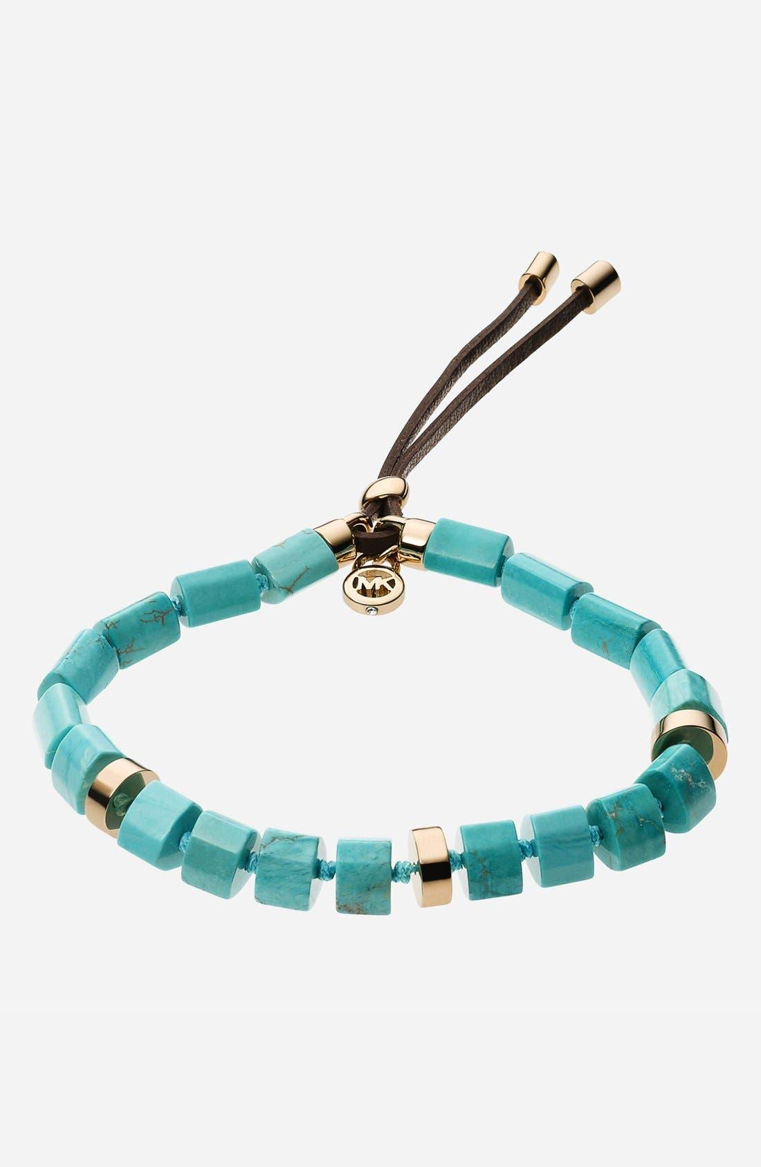 Alternate Image 1 Selected - Michael Kors 'Seaside Luxe' Stone Bracelet