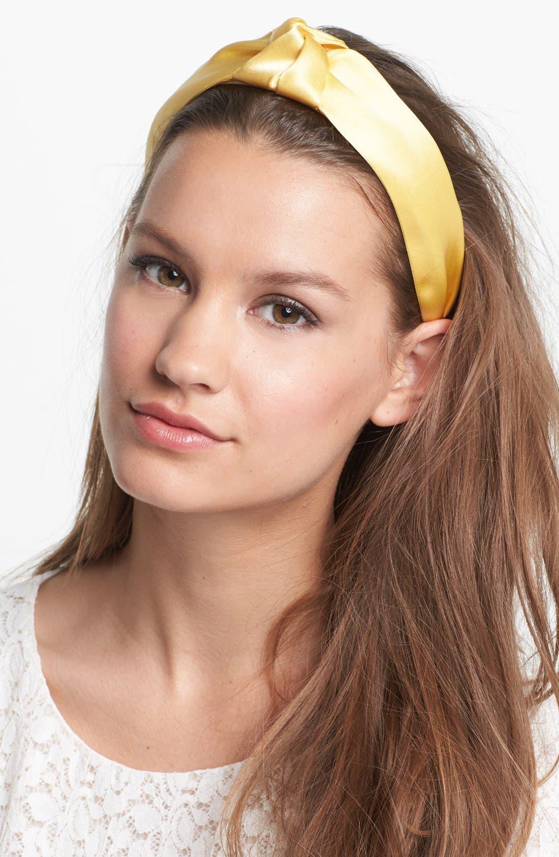 Main Image - L. Erickson 'Narrow Knot' Turban Headband