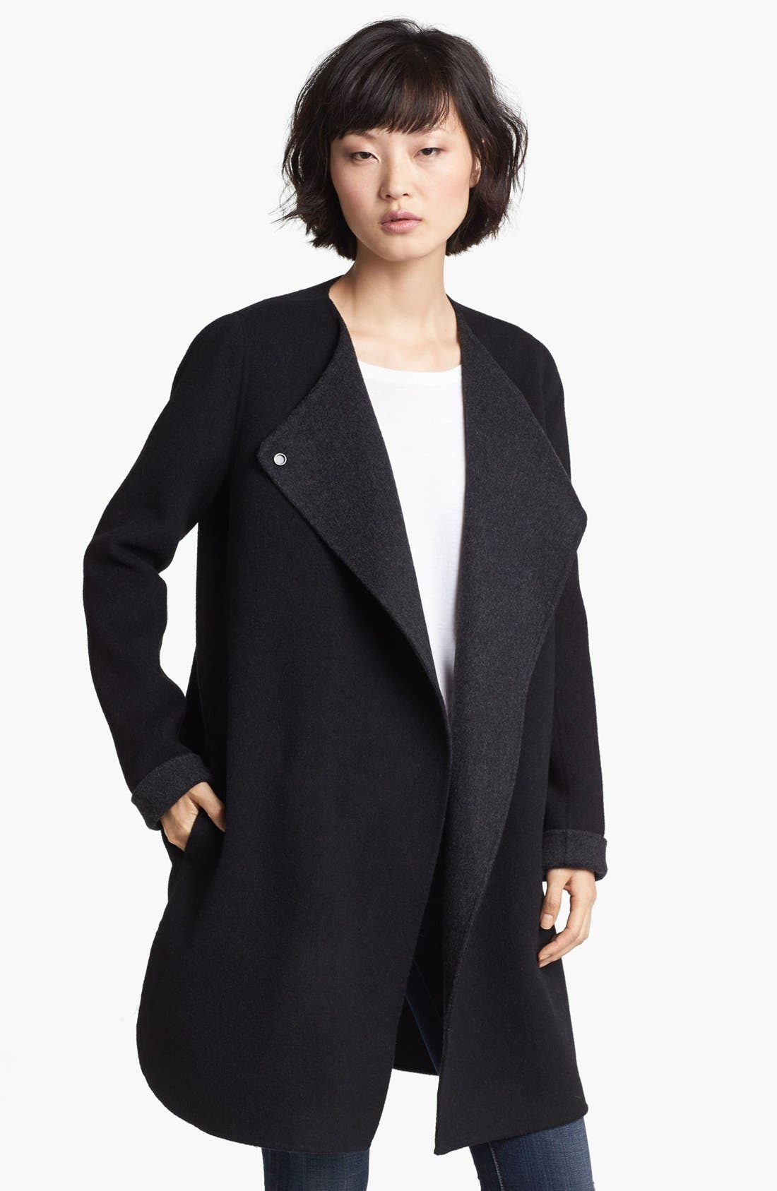 Main Image - Vince Wool Blend Coat