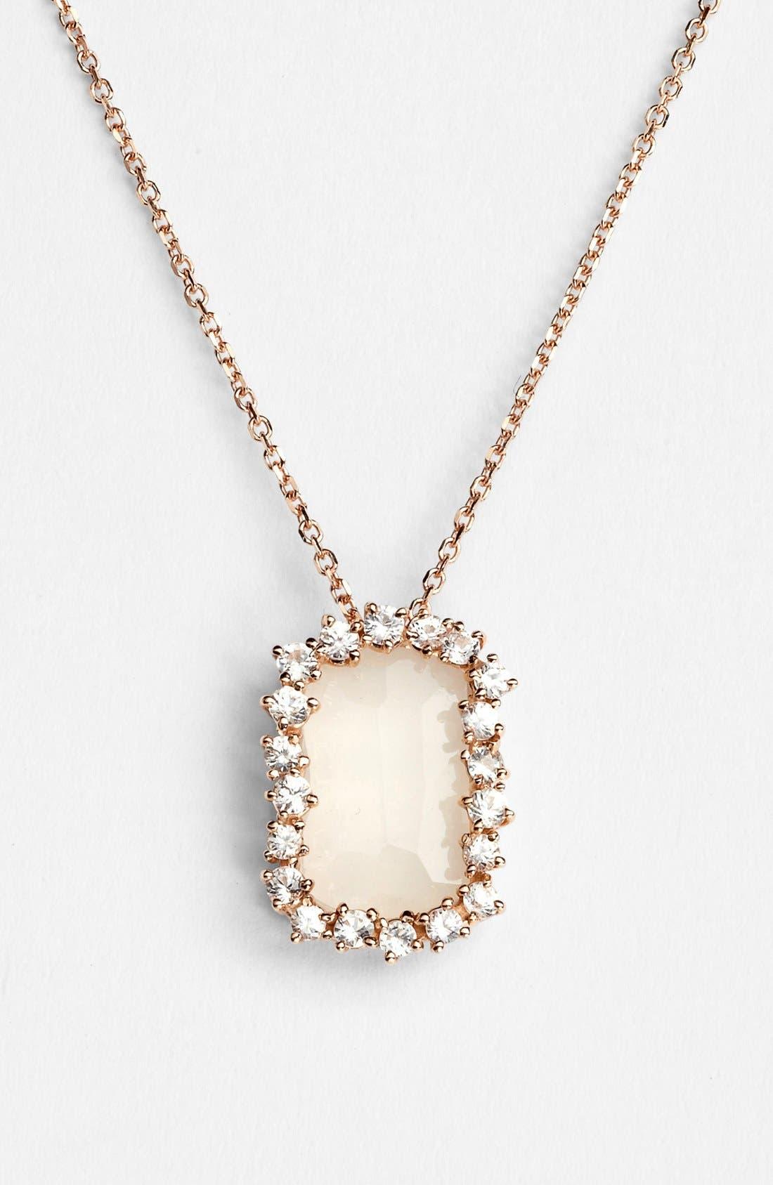 Main Image - KALAN by Suzanne Kalan Barrel Stone Pendant Necklace