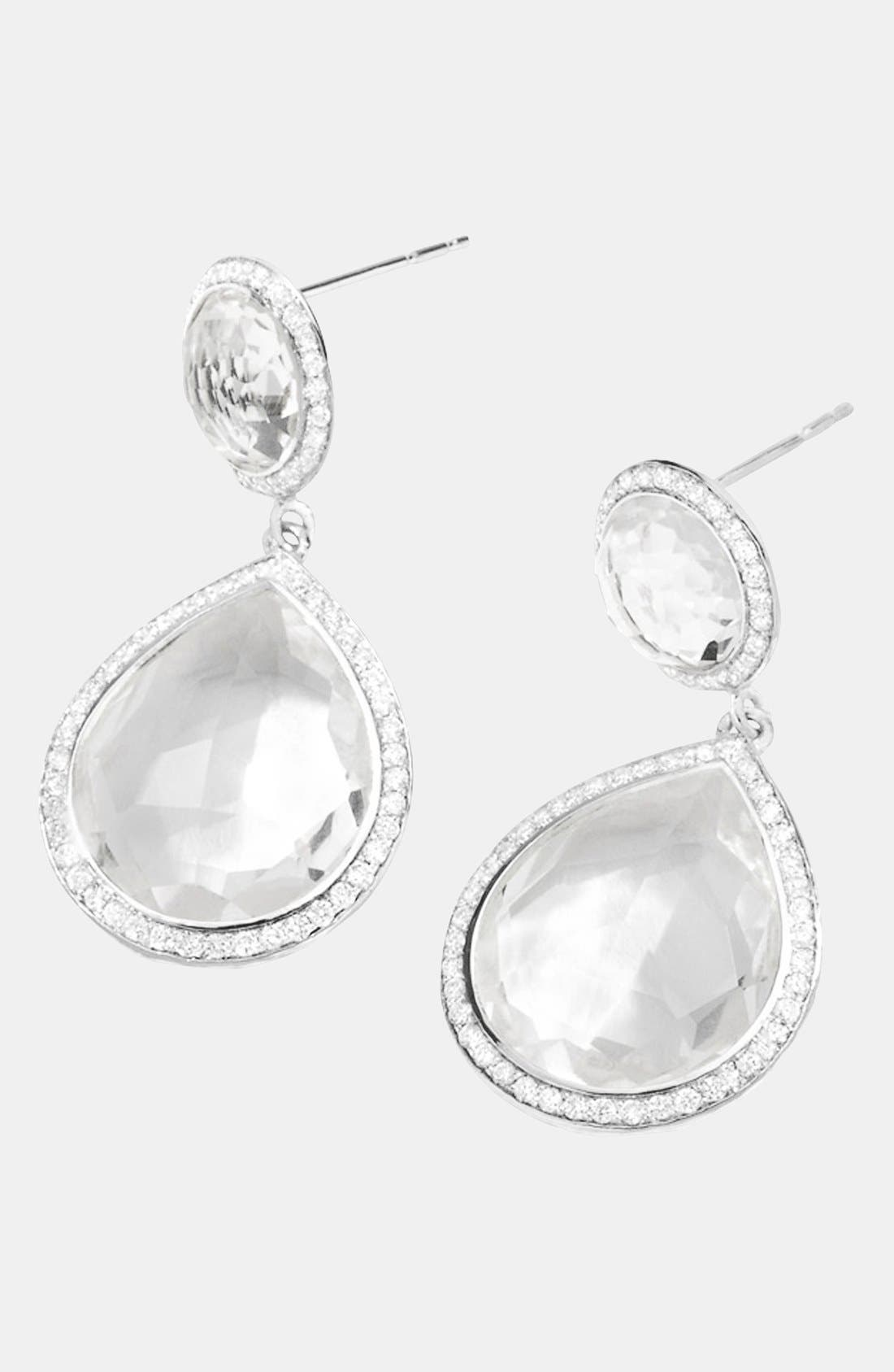 Alternate Image 2  - Ippolita 'Stella' Two Stone Drop Earrings