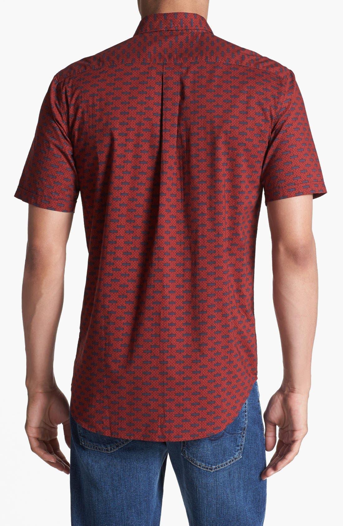 Alternate Image 3  - RVCA 'Chronicles' Print Woven Shirt