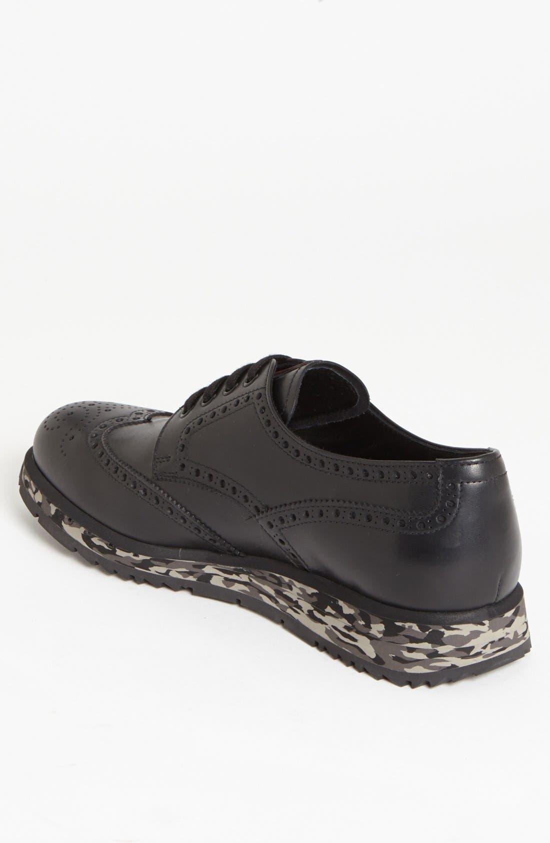 Alternate Image 2  - Prada Wingtip Sneaker