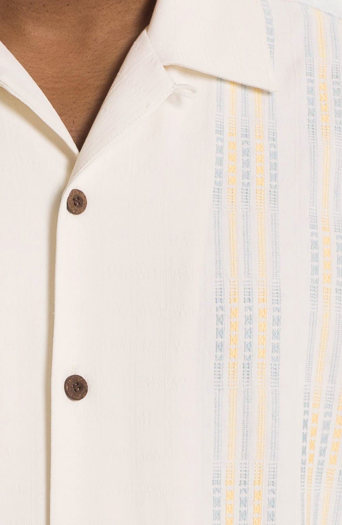 Alternate Image 3  - Tommy Bahama 'Four Amigos' Silk Campshirt (Big & Tall)