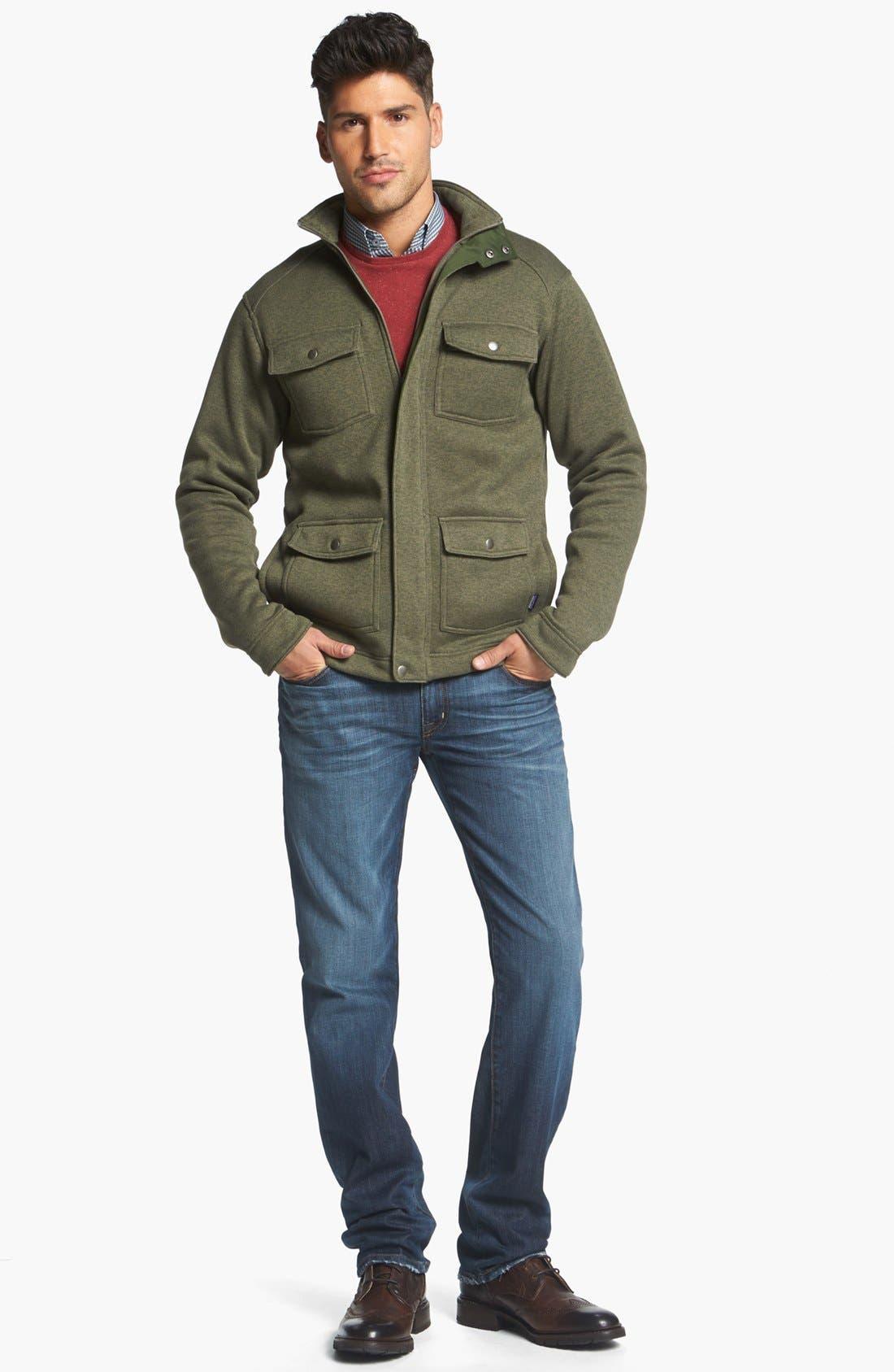 Alternate Image 5  - Fidelity Denim 'Slim Jim' Slim Fit Jeans (Windsor Blue)