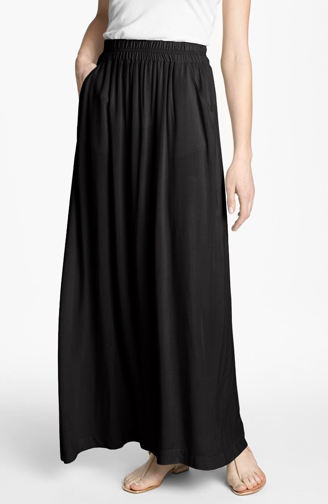Alternate Image 1 Selected - Splendid Voile Maxi Skirt