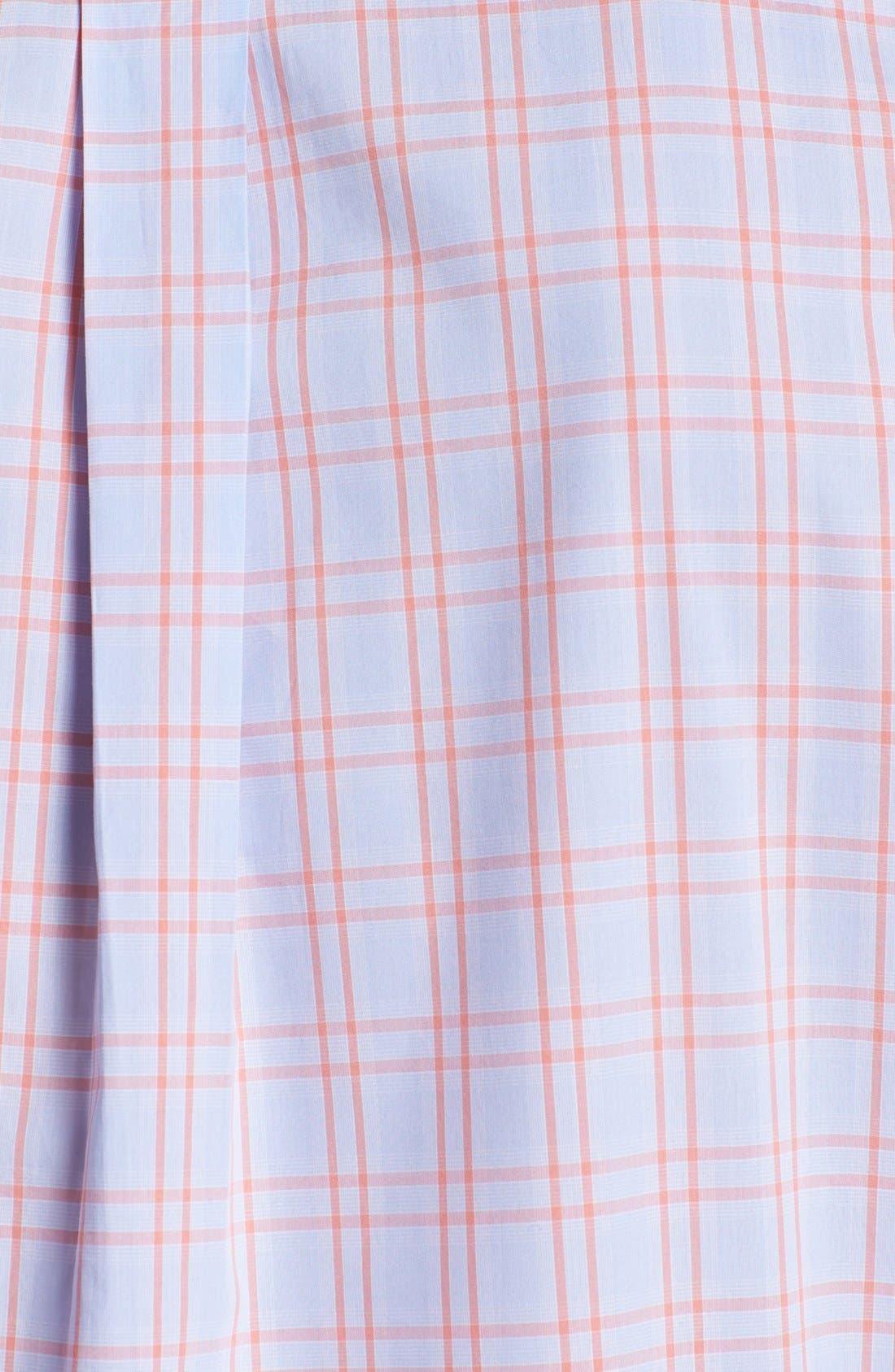 Alternate Image 3  - Façonnable Club Fit Window Plaid Sport Shirt