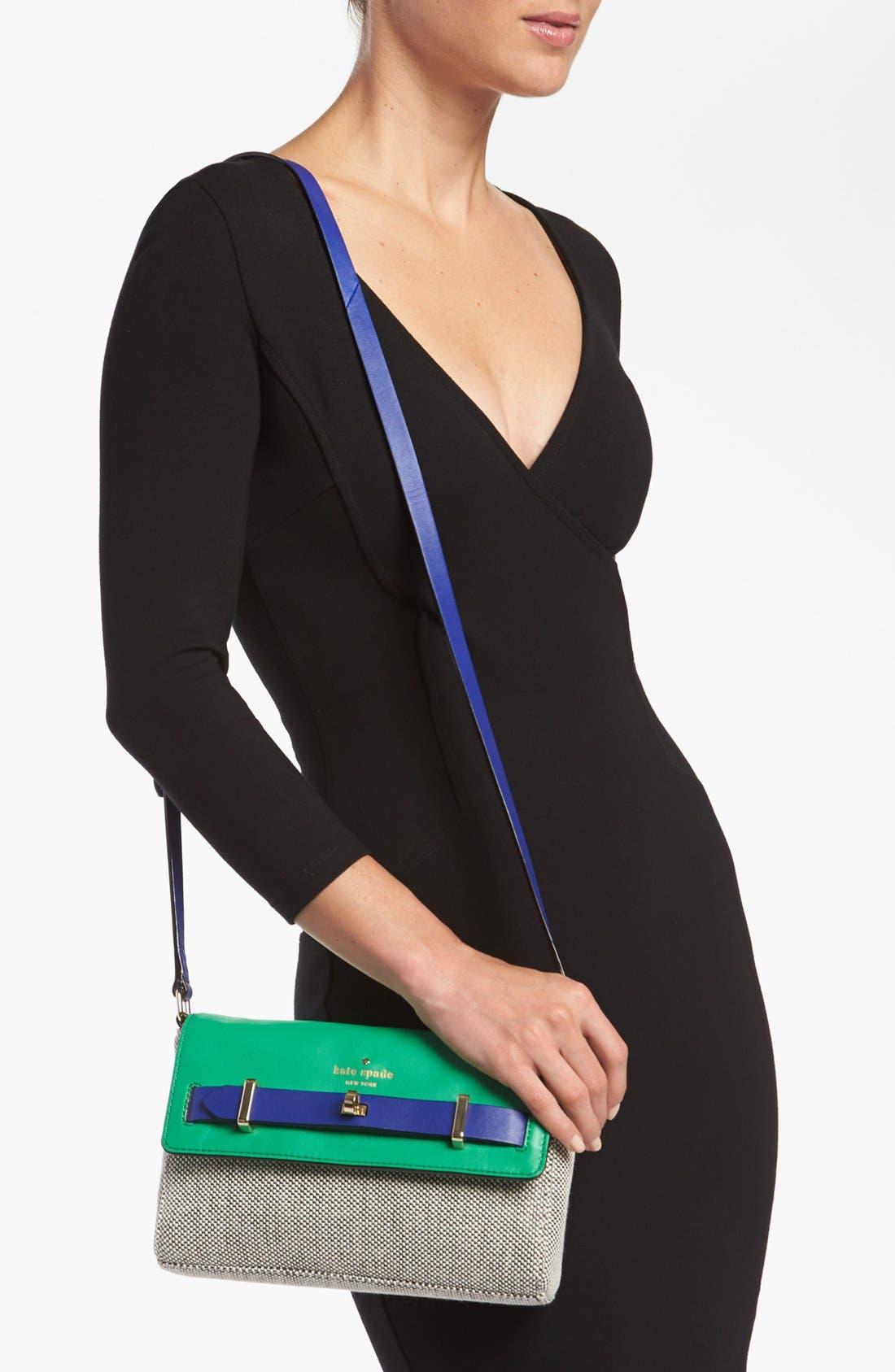 Alternate Image 2  - kate spade new york 'bourbon street -  fabric carmine' shoulder bag