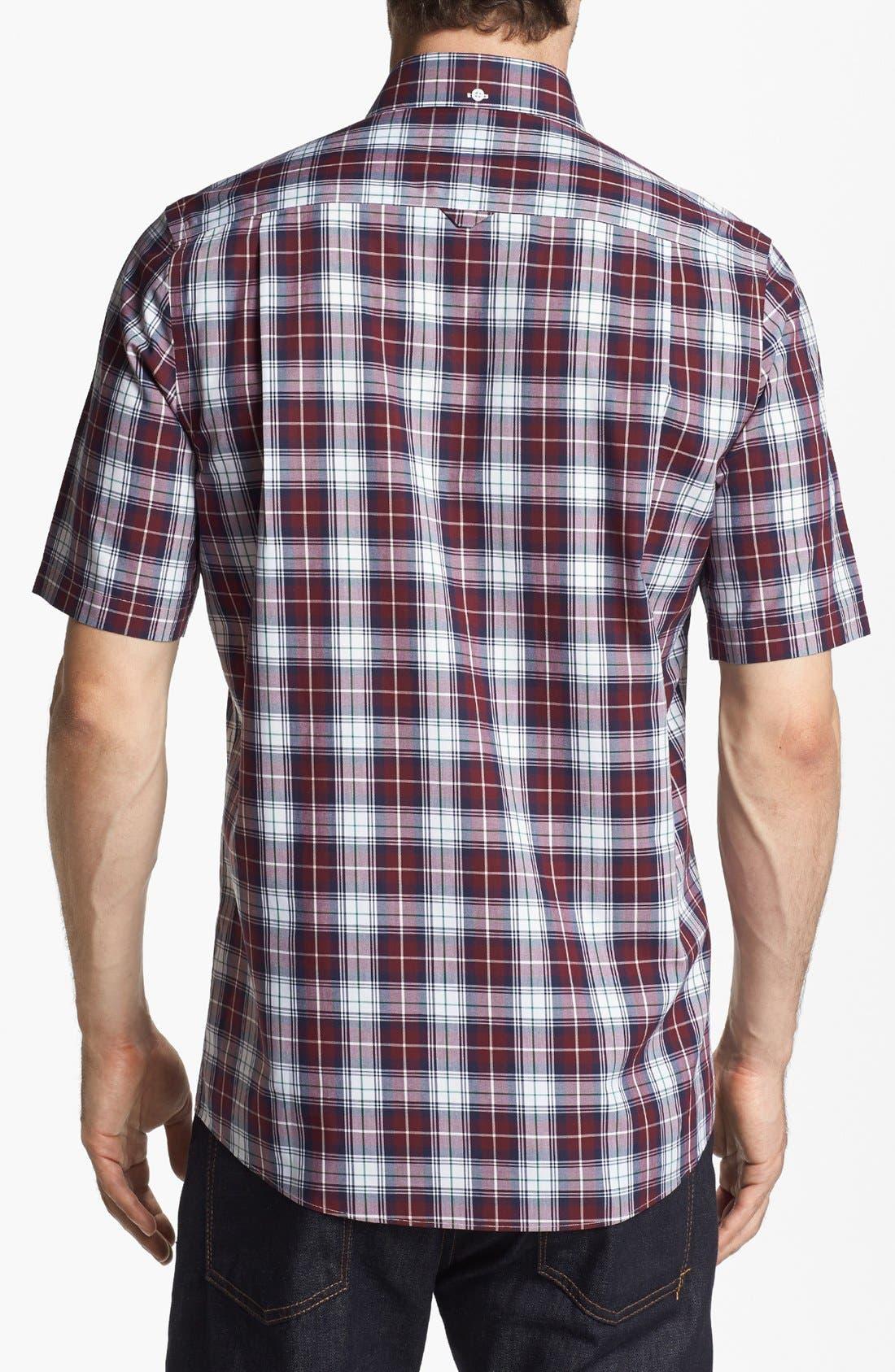 Alternate Image 2  - Nordstrom Smartcare™ Regular Fit Poplin Sport Shirt