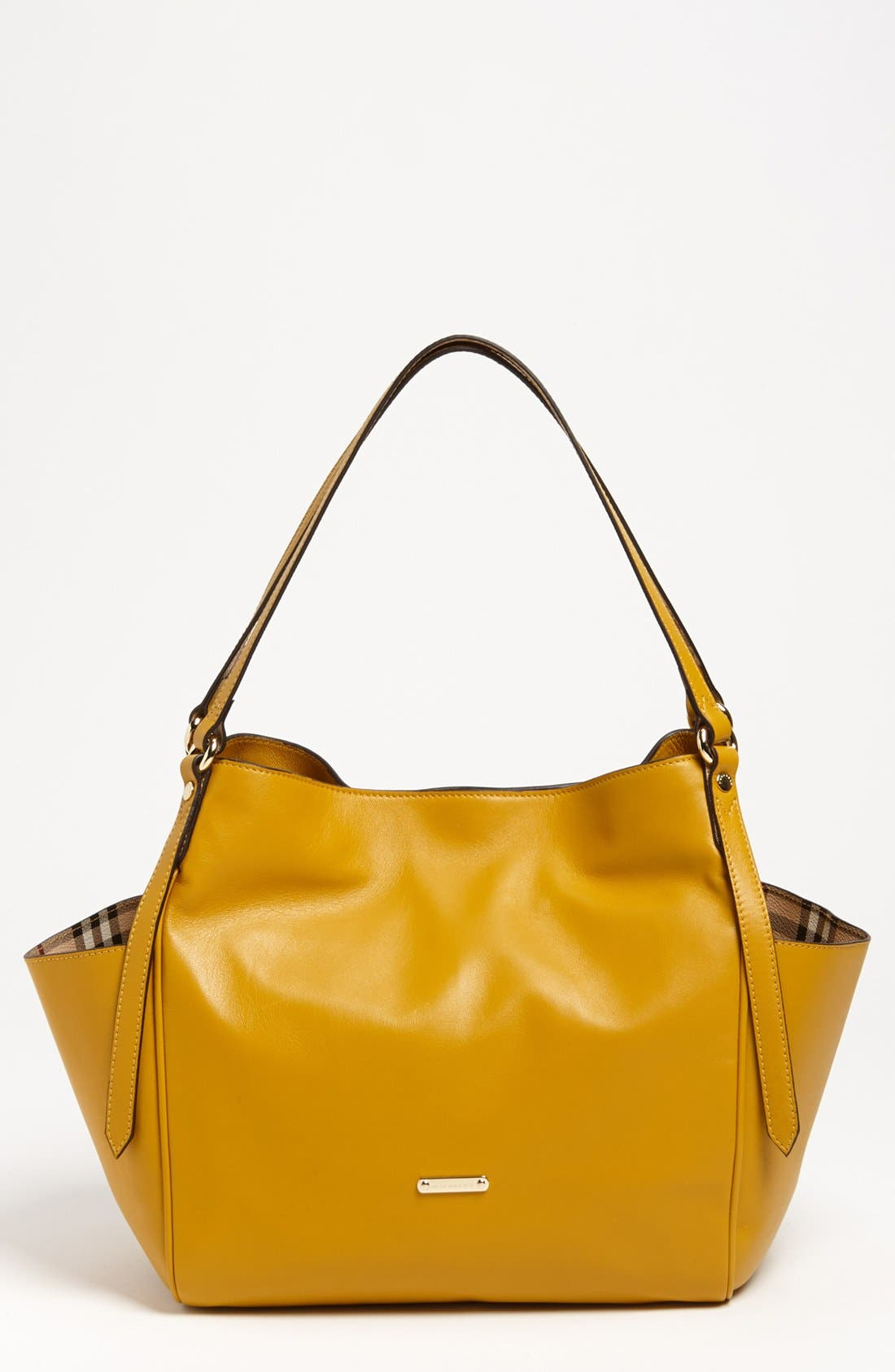 Main Image - Burberry 'Canterbury - Small' Leather Tote