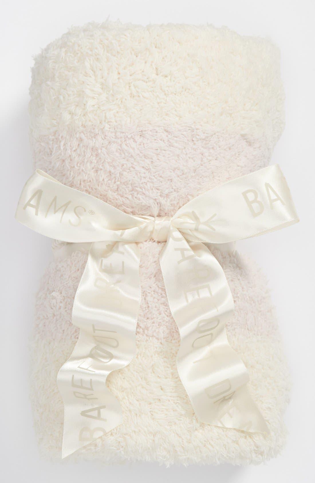 Alternate Image 1 Selected - Barefoot Dreams® CozyChic® Stripe Blanket