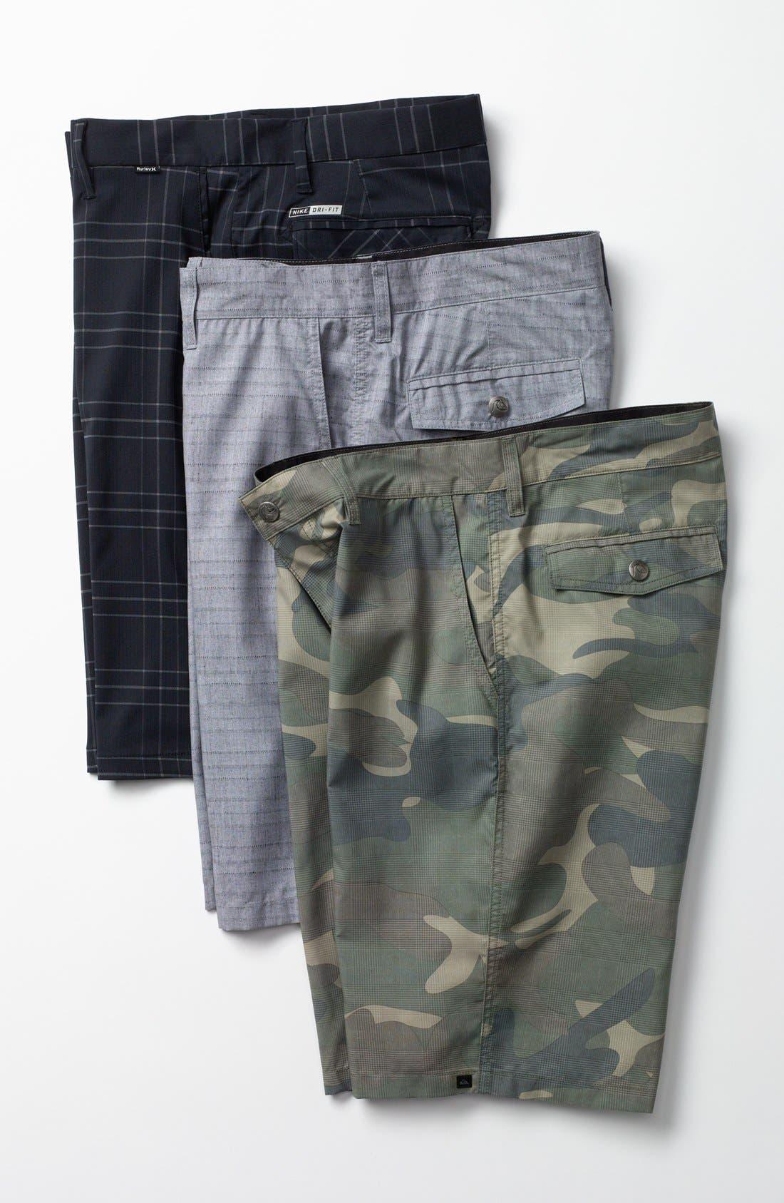 Alternate Image 4  - Quiksilver 'Duckbill' Hybrid Shorts