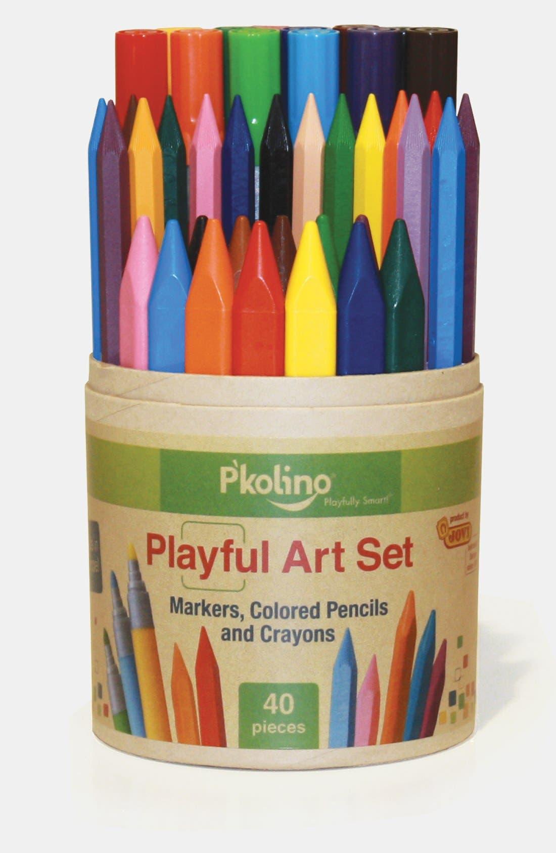 Alternate Image 1 Selected - P'kolino Playful Art Set