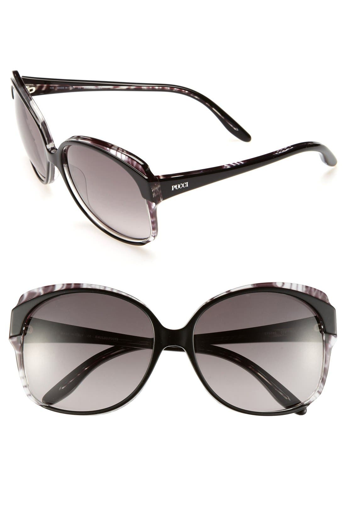 Alternate Image 1 Selected - Emilio Pucci 58mm Sunglasses (Special Purchase)