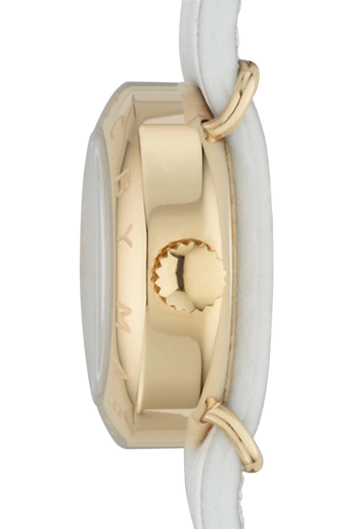 Alternate Image 3  - MARC JACOBS 'Amy Dinky' Double Wrap Strap Watch, 21mm
