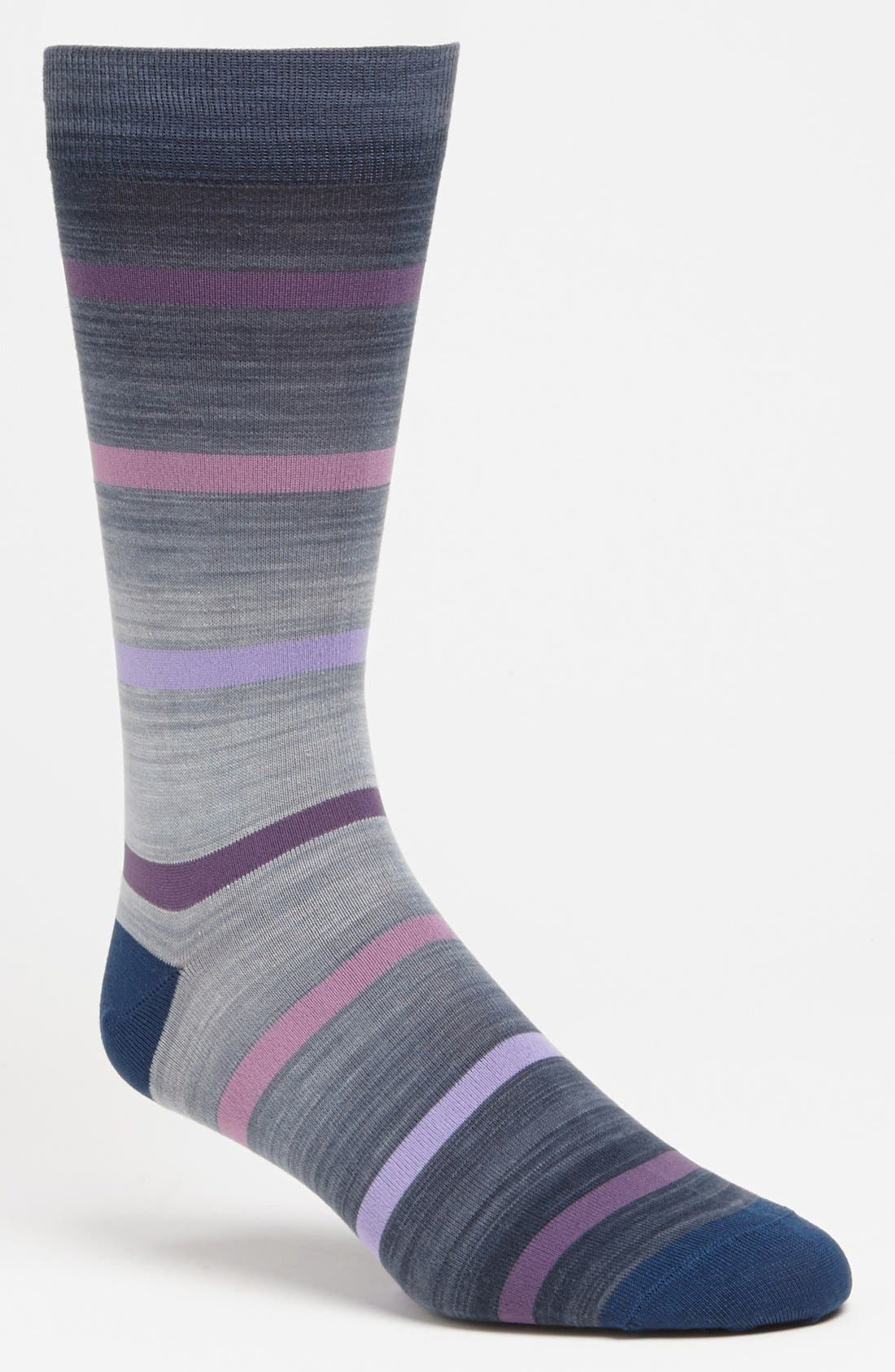 Alternate Image 1 Selected - Marcoliani 'Delave' Stripe Socks