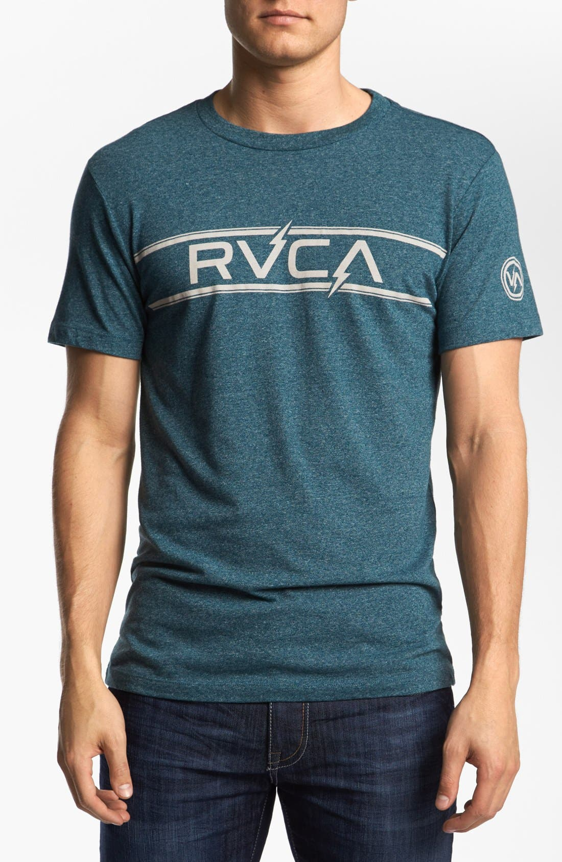 Alternate Image 1 Selected - RVCA 'Bolts' T-Shirt