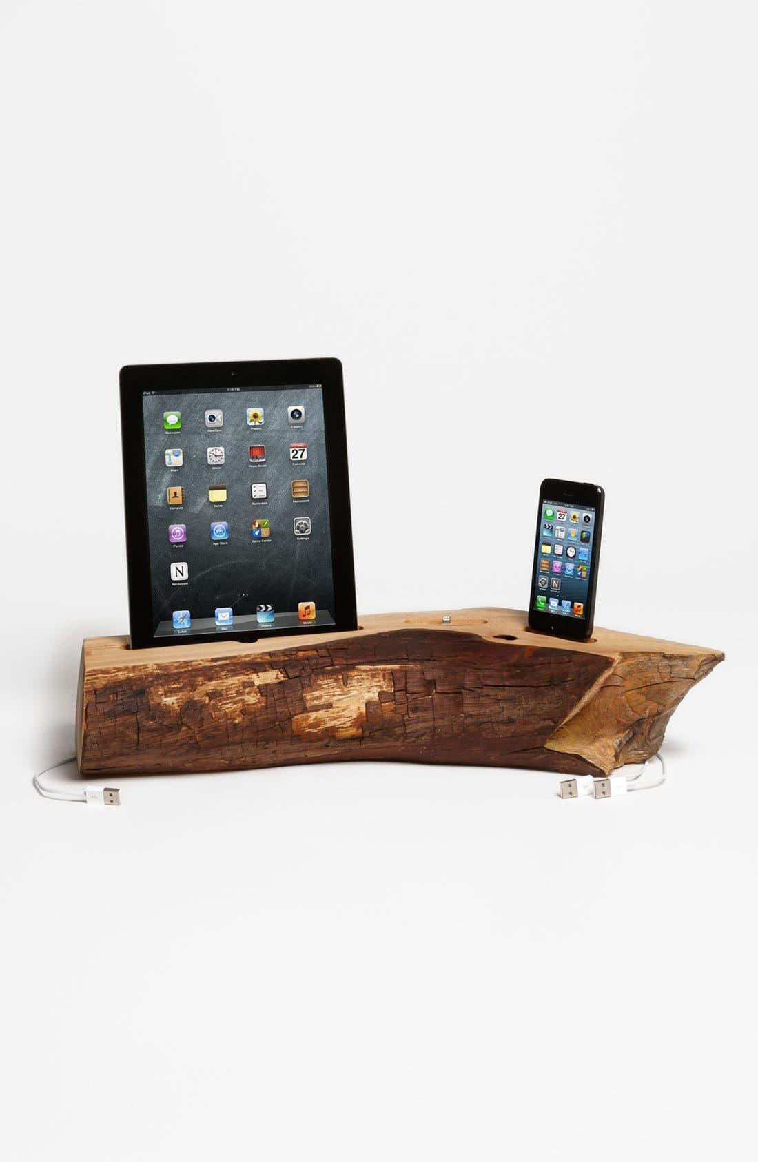 Main Image - Dock Artisan iPhone 5 & iPad 4 Cedar Docking Station