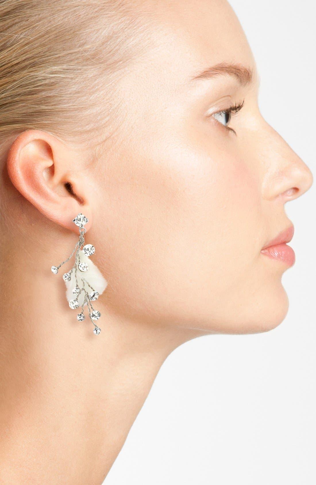 Alternate Image 2  - Nina 'Odeta' Drop Earrings
