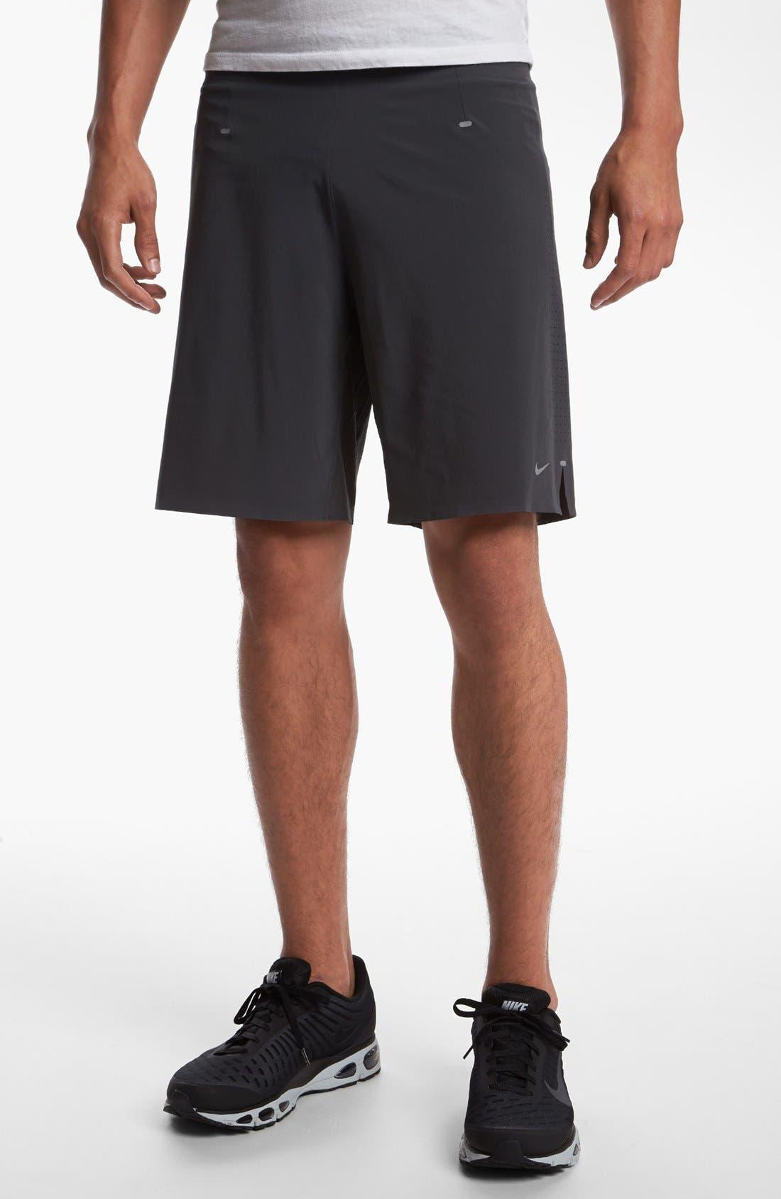 Alternate Image 1 Selected - Nike 'Instinct' Stretch Woven Running Shorts