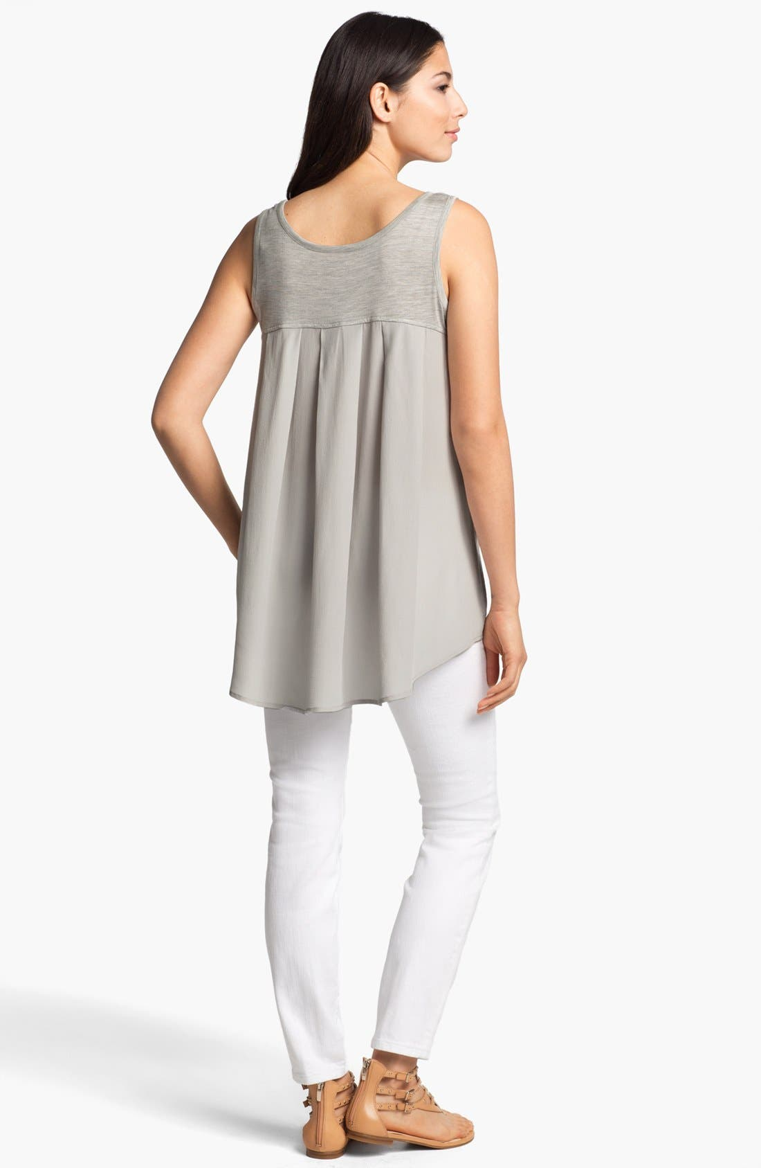 Alternate Image 3  - Eileen Fisher Scoop Neck Tank