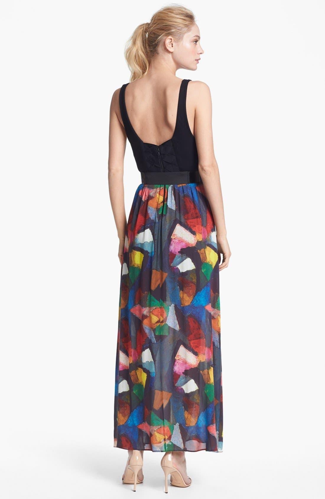 Alternate Image 2  - Alice + Olivia 'Kell' Maxi Dress