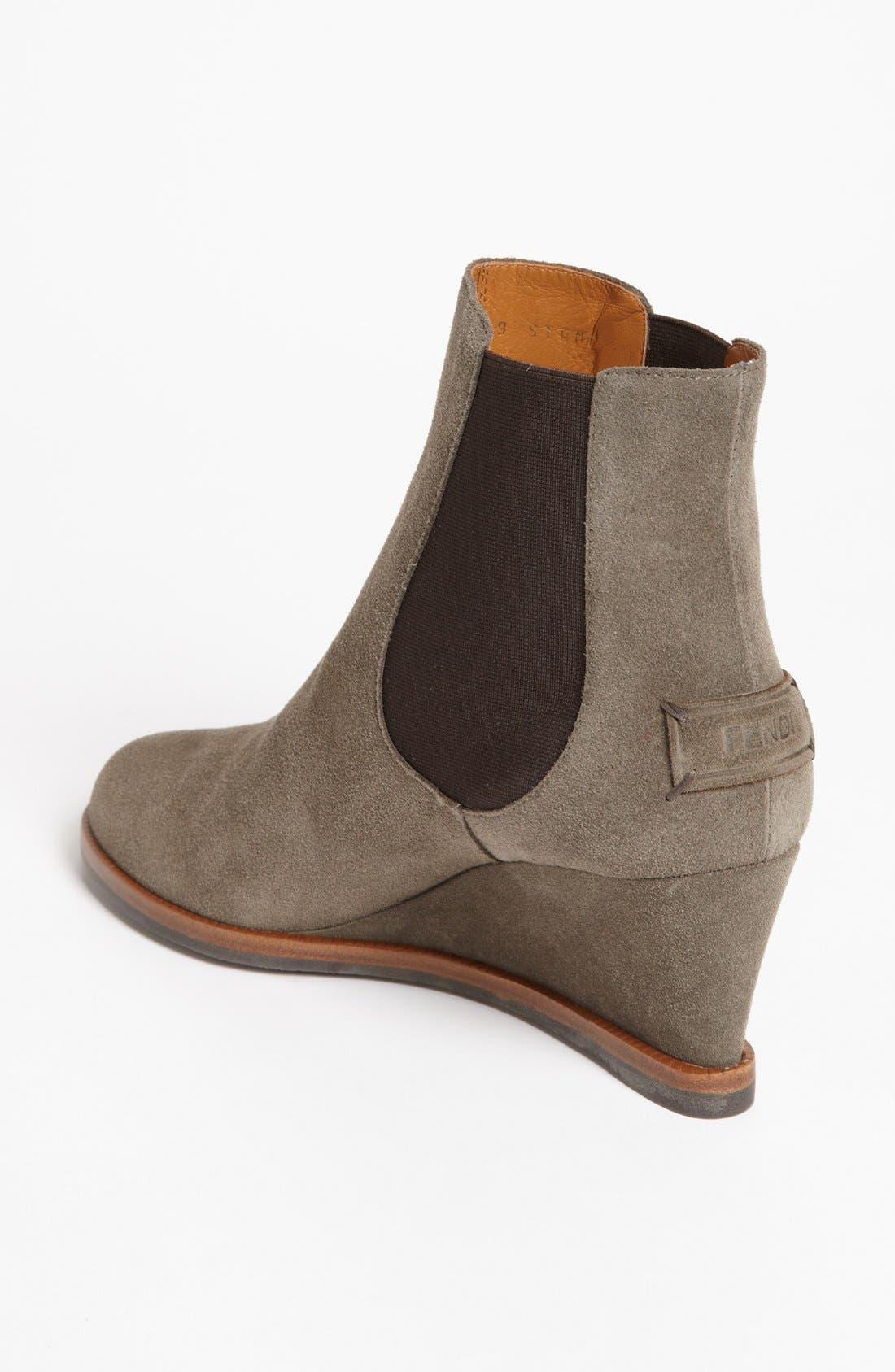 Alternate Image 2  - Fendi Wedge Ankle Boot