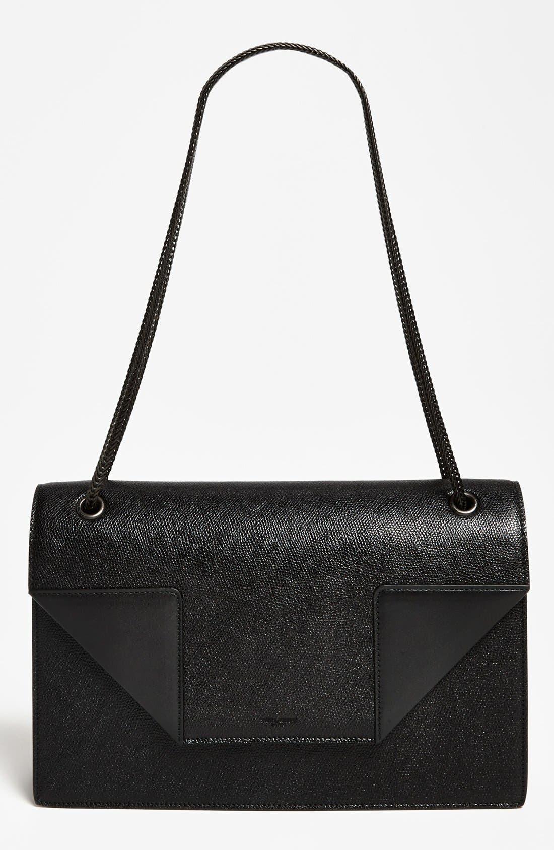 Alternate Image 1 Selected - Saint Laurent 'Betty - Medium' Leather Shoulder Bag