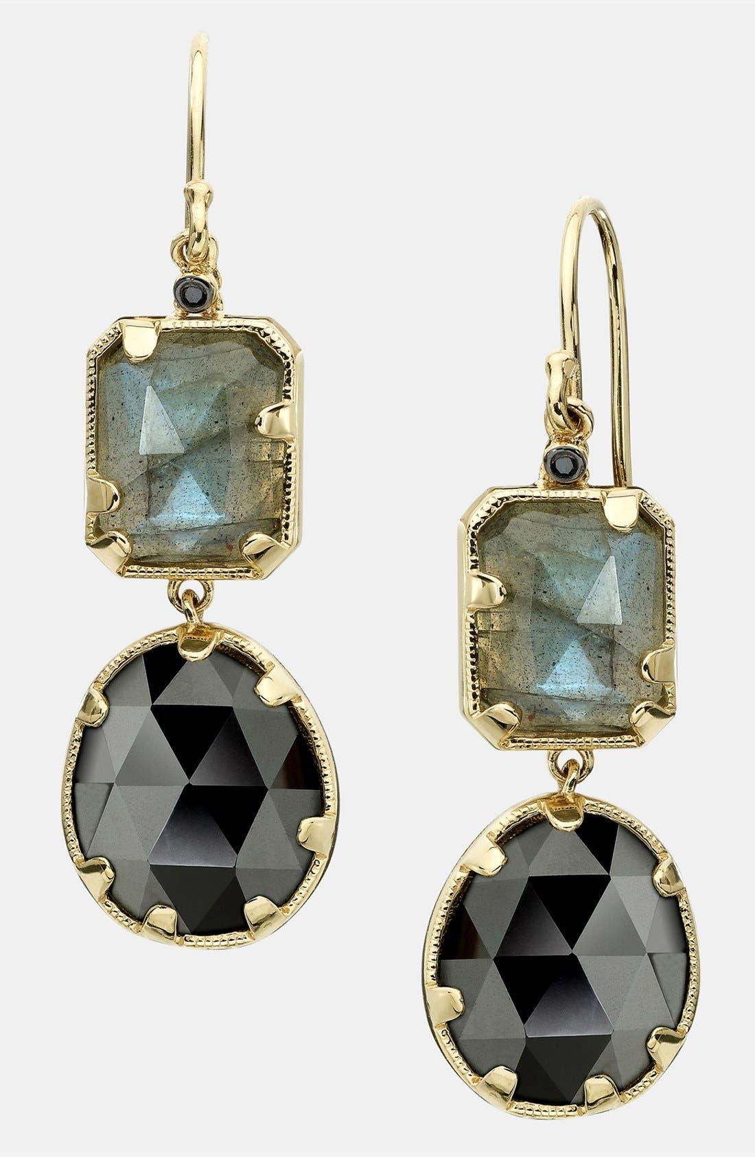 Alternate Image 1 Selected - Whitney Stern Drop Earrings