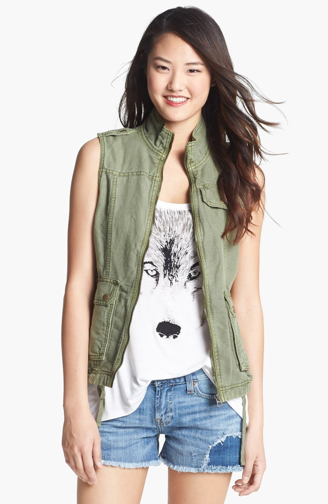 Main Image - Lucky Brand Military Vest