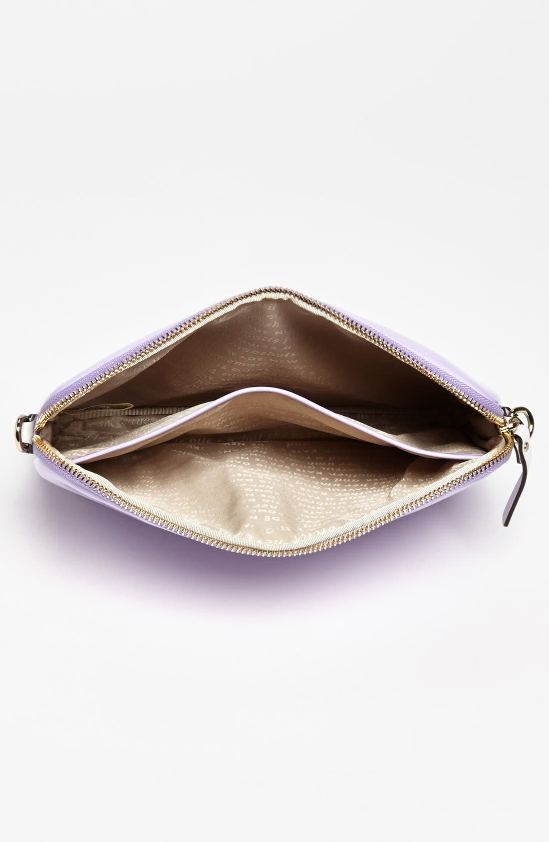 Alternate Image 4  - kate spade new york 'bryce - flicker' patent leather iPad crossbody bag
