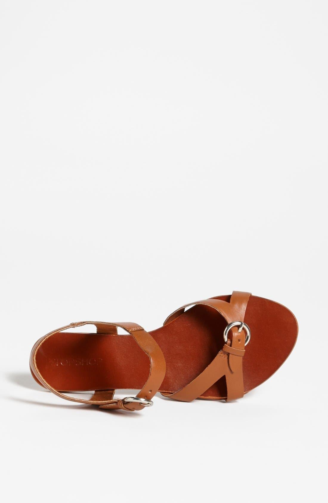 Alternate Image 3  - Topshop 'Horsham-Geeky' Sandal