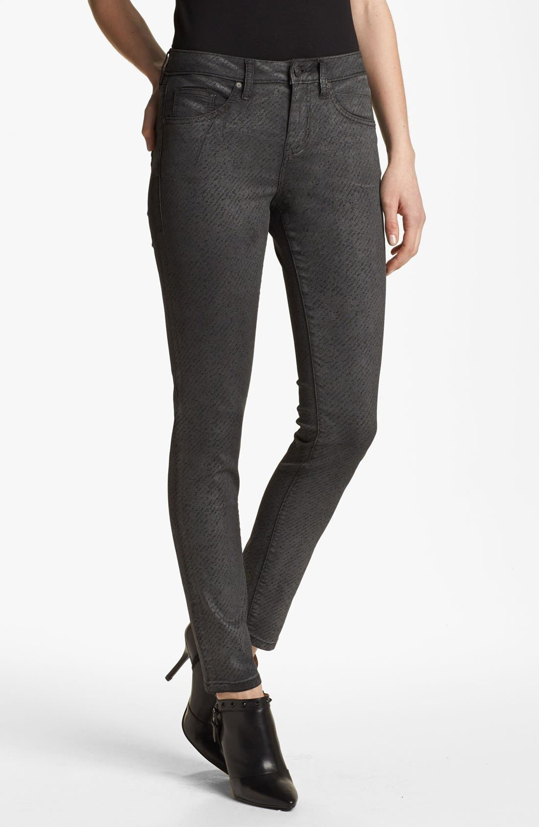 Alternate Image 3  - Jag Jeans 'Miranda' Metallic Coated Print Skinny Jeans (Regular & Petite)