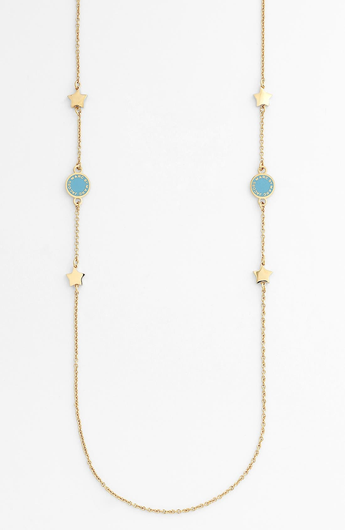 Alternate Image 1 Selected - MARC BY MARC JACOBS 'Classic Marc' Long Station Necklace