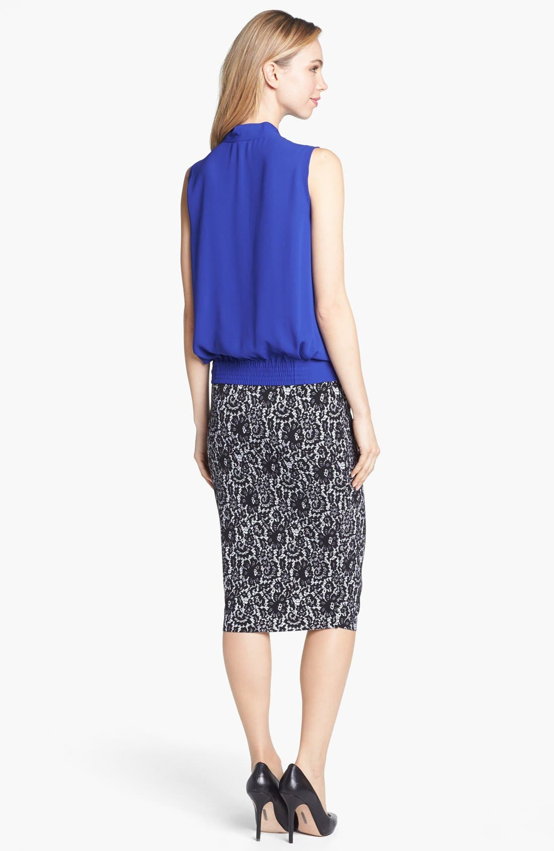 Alternate Image 4  - Vince Camuto Sleeveless Faux Wrap Top