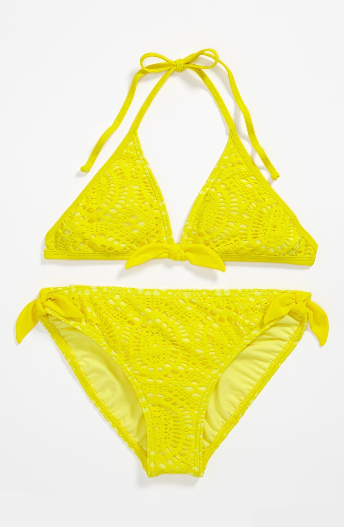 Alternate Image 1 Selected - Billabong 'June' Two Piece Swimsuit (Big Girls)