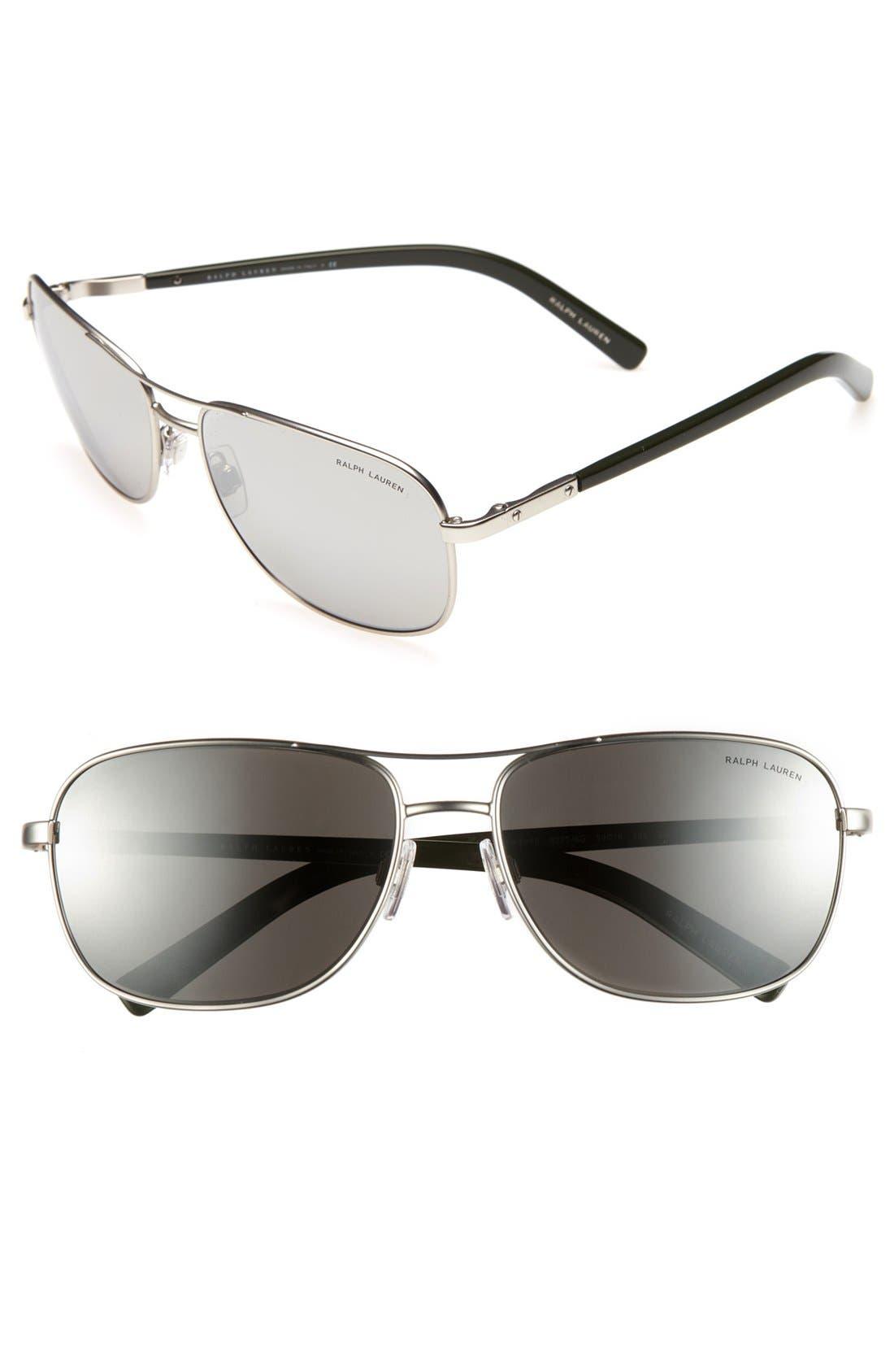 Alternate Image 1 Selected - Polo Ralph Lauren 59mm Keyhole Sunglasses