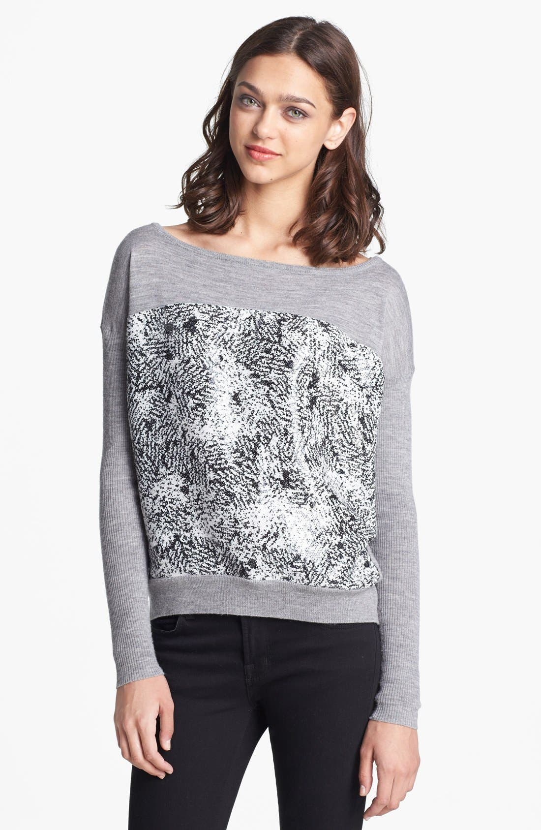 Alternate Image 1 Selected - Diane von Furstenberg 'Gracie' Wool Sweater