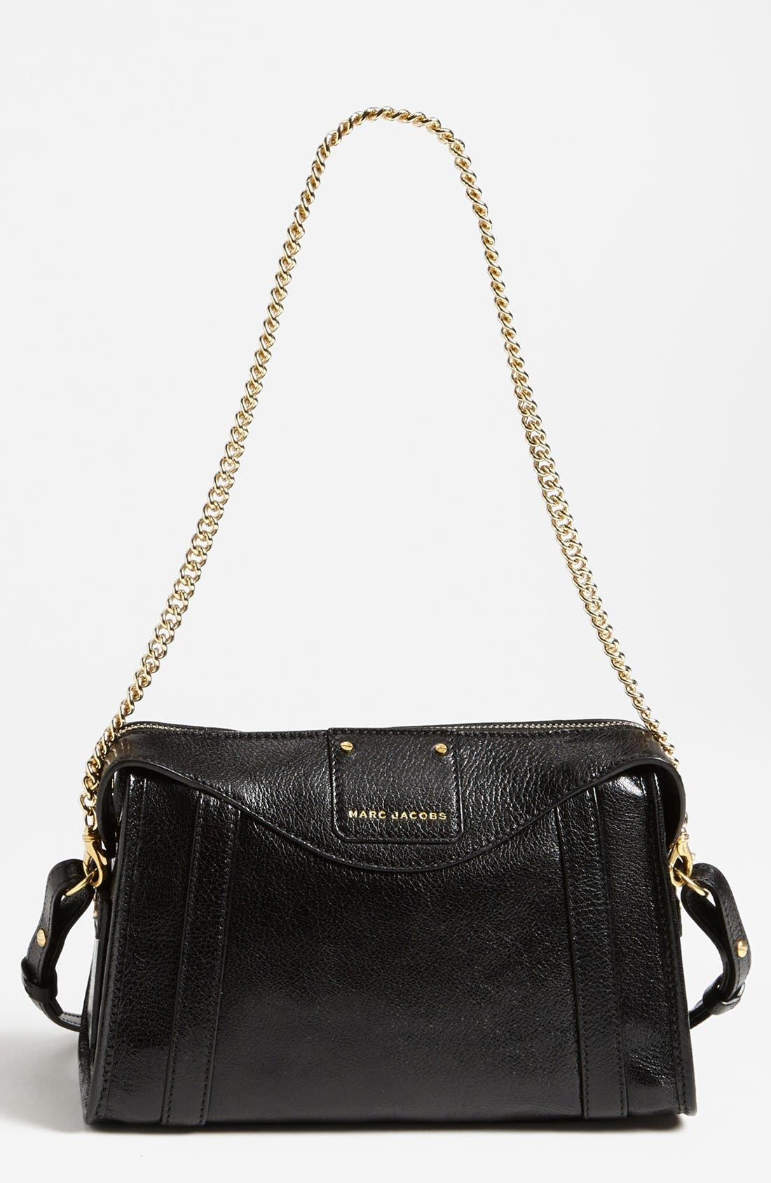 Main Image - MARC JACOBS 'Wellington - Peggy' Leather Crossbody Bag