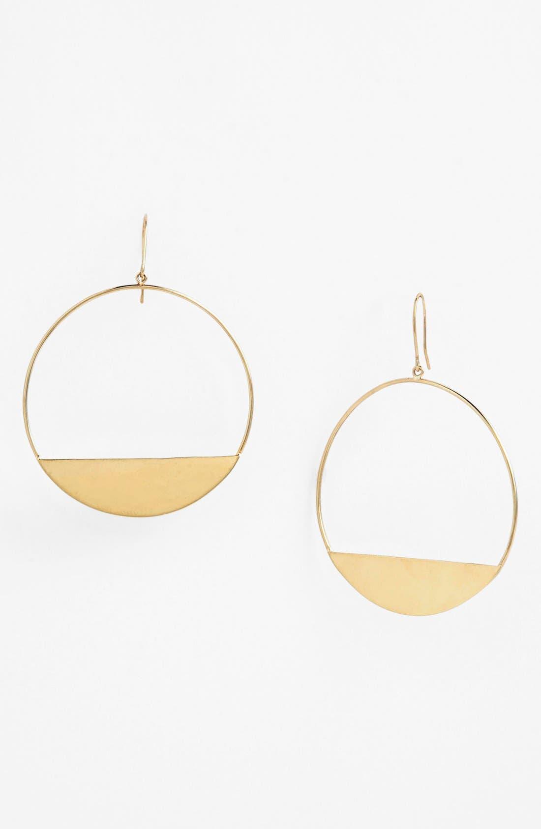 Alternate Image 1 Selected - Lana Jewelry Medium Eclipse Earrings