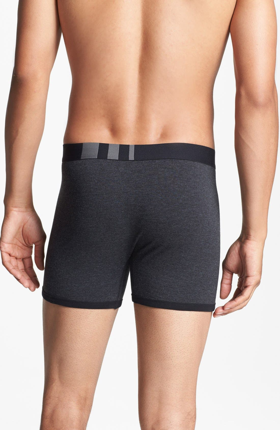 Alternate Image 4  - Basic Underwear 'Bottoms Out' Boxer Briefs (3-Pack)