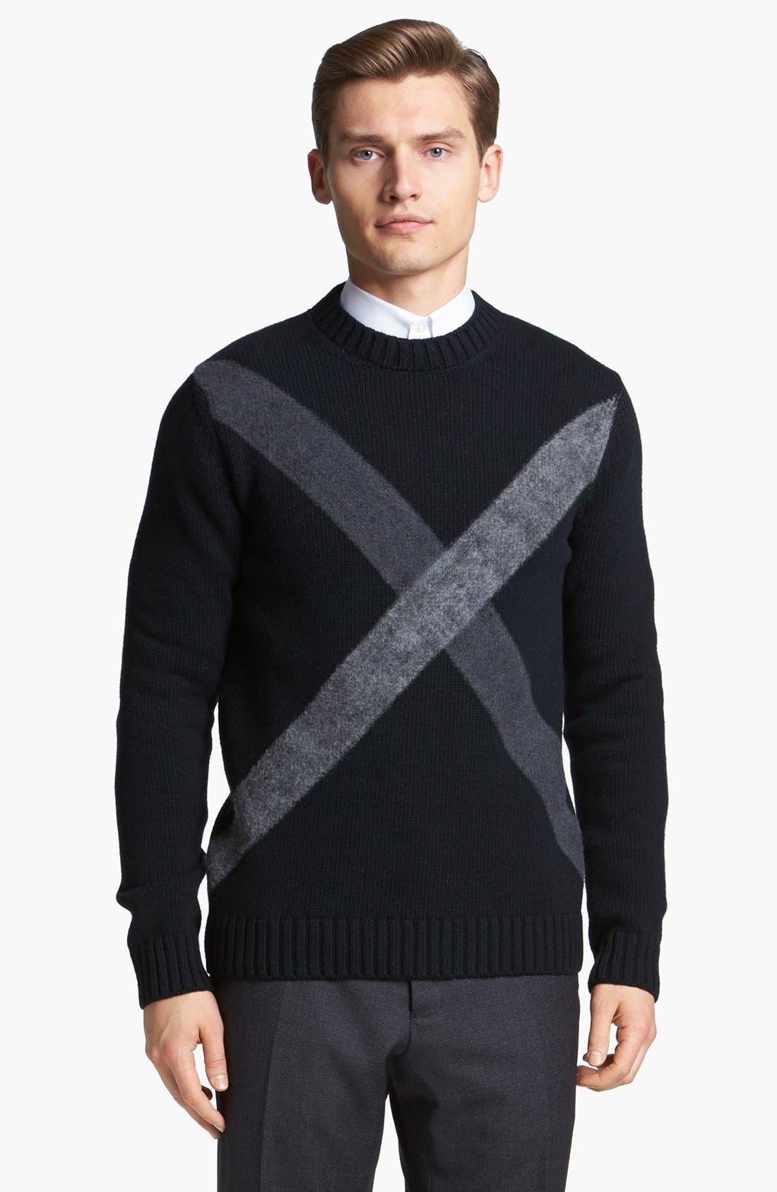 Alternate Image 1 Selected - Jil Sander Crewneck Sweater