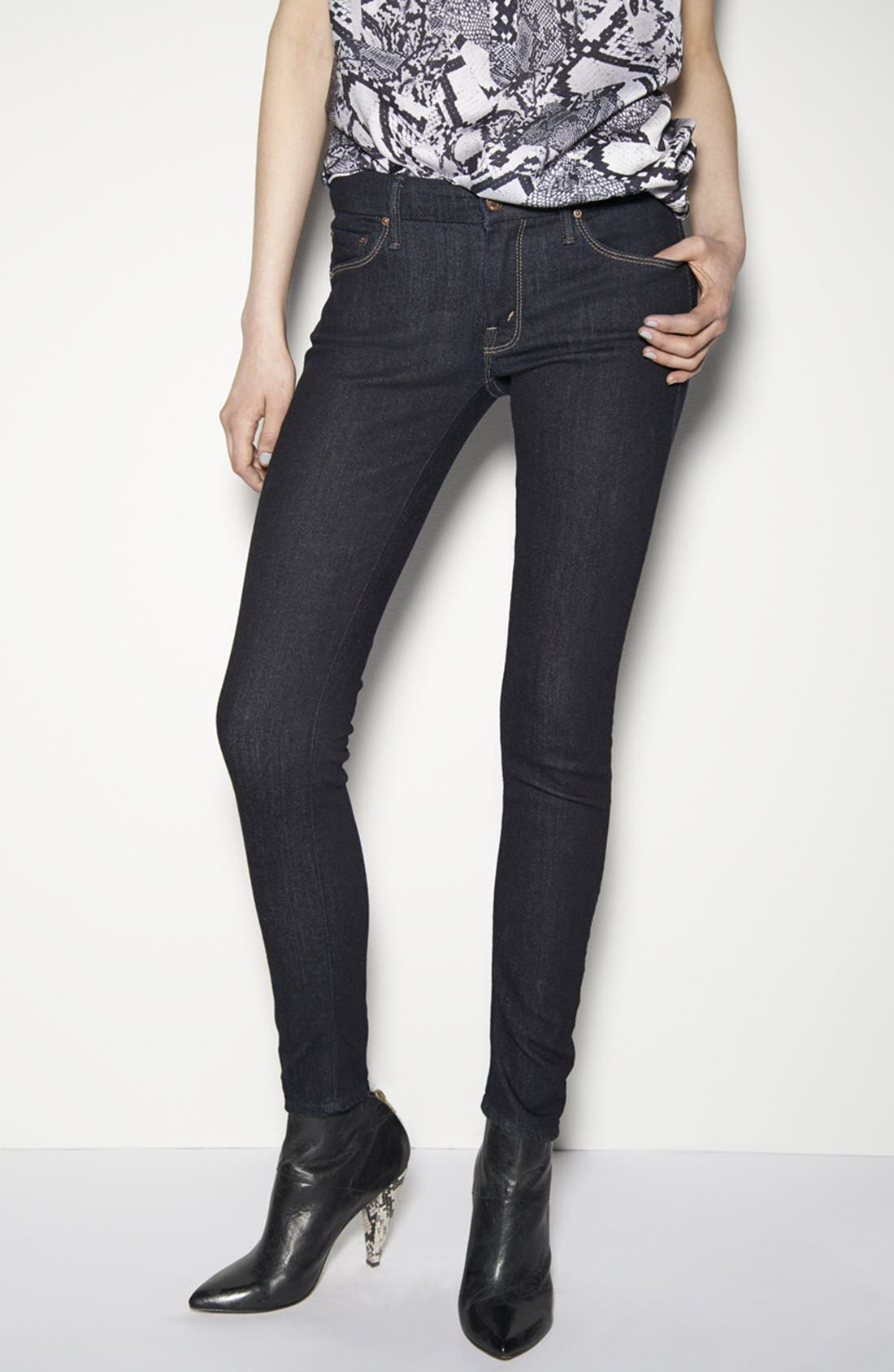 Alternate Image 4  - MOTHER 'The Looker' Skinny Jeans